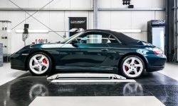 Porsche 911 996 Cabriolet Autoaufbereitung 2