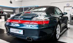 Porsche 911 996 Cabriolet Autoaufbereitung 5