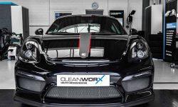 Autoaufbereitung Porsche Cayman GT4 (981)