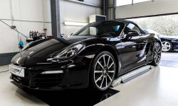 Porsche Boxster 981 Black Edition Autoaufbereitung 1