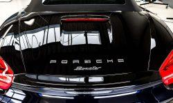 Porsche Boxster 981 Black Edition Autoaufbereitung 10