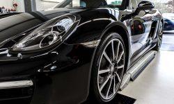 Porsche Boxster 981 Black Edition Autoaufbereitung 13
