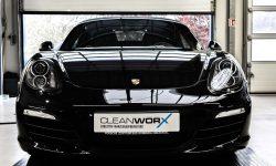 Porsche Boxster 981 Black Edition Autoaufbereitung 2