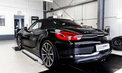 Porsche Boxster 981 Black Edition Autoaufbereitung 3