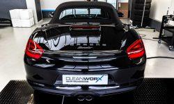 Porsche Boxster 981 Black Edition Autoaufbereitung 6