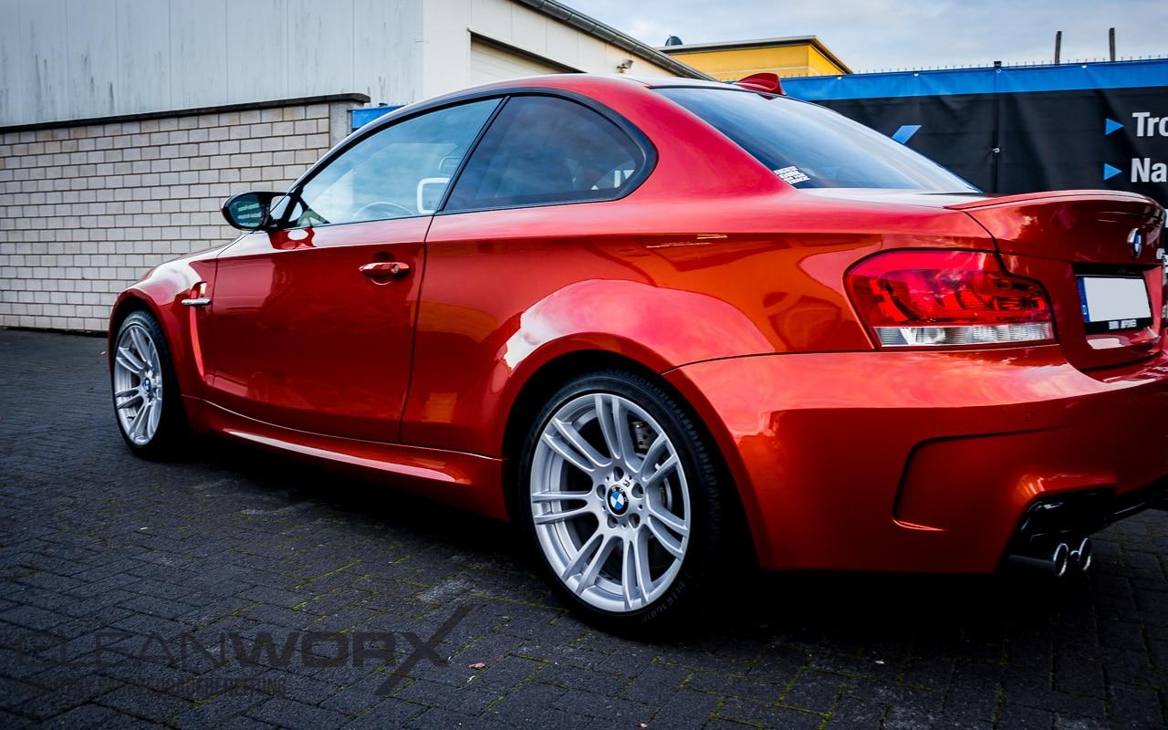 Cleanworx-BMW 1er M-Fahrzeugaufbereitung
