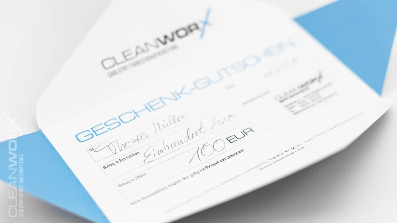 Geschenkgutscheine-Fahrzeugaufbereitung-CLEANWORX