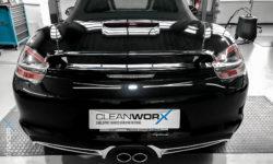 Keramikversiegelung Porsche Boxster Techart von Cleanworx