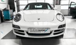 Porsche 911 997 Cabriolet Keramikversiegelung von Cleanworx