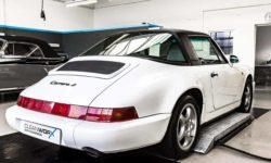Porsche 911 Targa 964 Autoaufbereitung 10