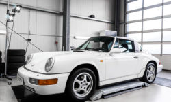 Porsche 911 Targa 964 Autoaufbereitung 12