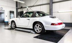 Porsche 911 Targa 964 Autoaufbereitung 7