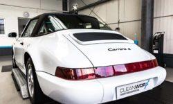 Porsche 911 Targa 964 Autoaufbereitung 8