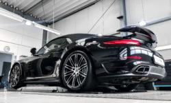 Porsche 911 Turbo Cabriolet Keramikversiegelung 9914