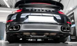 Porsche 911 Turbo Cabriolet Keramikversiegelung 9918