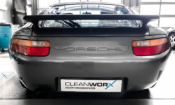 Porsche 928 Aufbereitung Cleanworx Carnaubawachs 1