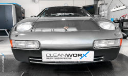 Porsche 928 Aufbereitung Cleanworx Carnaubawachs 4