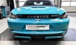 Porsche Boxster GTS 718 982 Cleanworx Keramikversiegelung 14