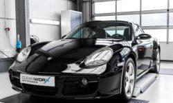 Porsche Cayman S 987c Autoaufbereitung 6